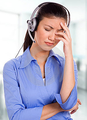 Frustrated travel agent