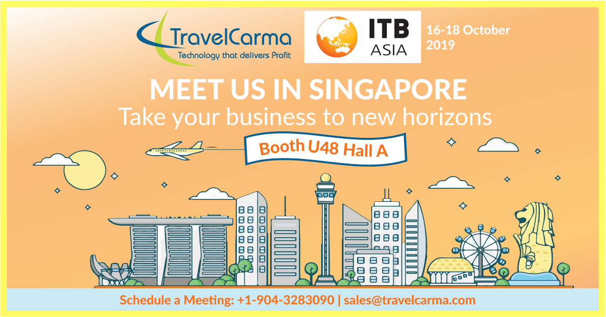 TravelCarma at ITB Asia 2019