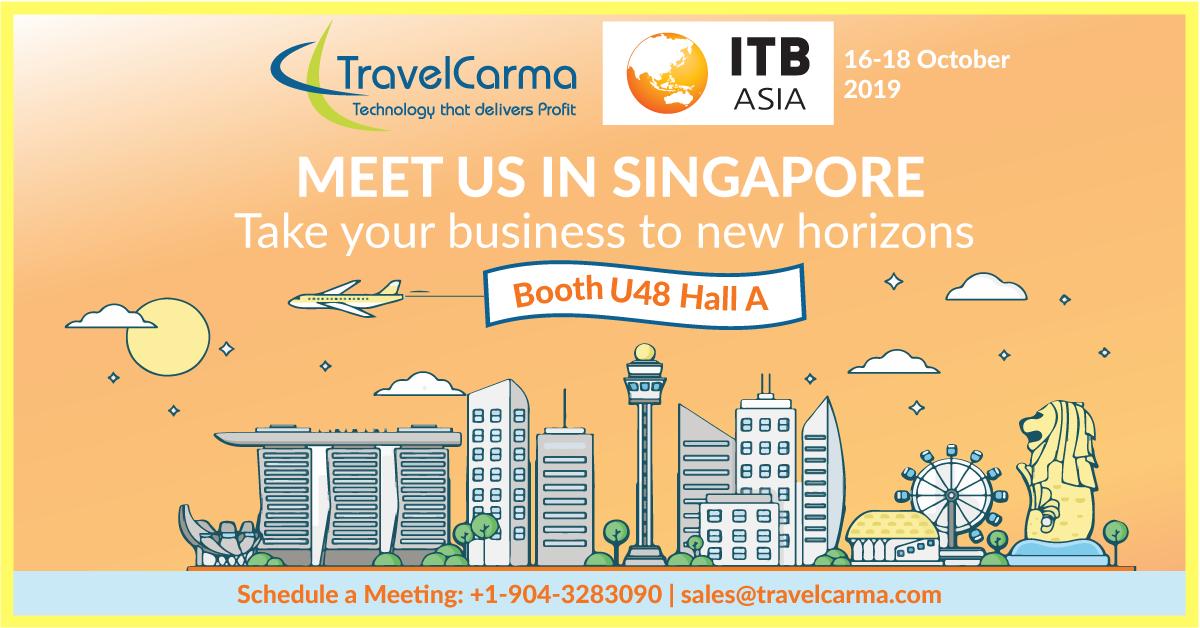 TravelCarma at ITB Asia 2019