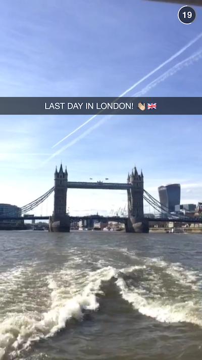 Snapchat London