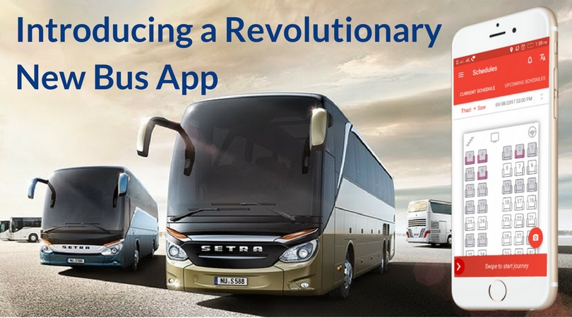 TravelCarma Bus Booking App with Location Tracking