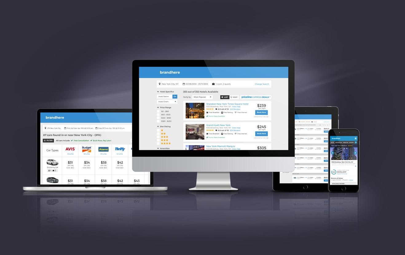 B2B Travel Agency Private Label Website