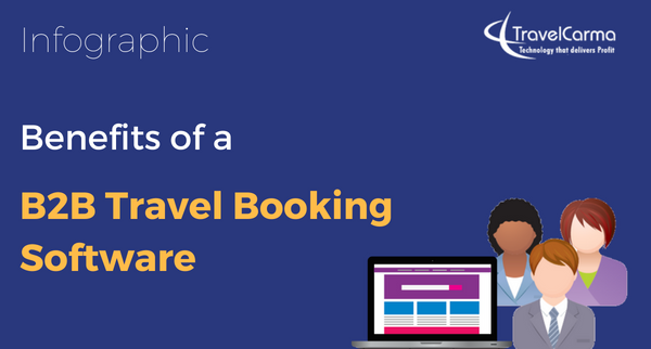 Infographic] Benefits of a B2B Travel Booking Software