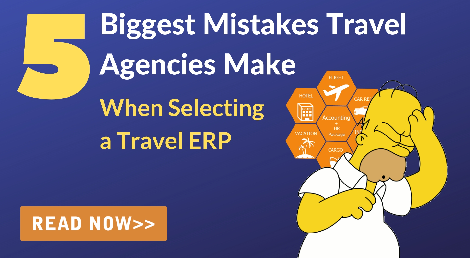Biggest mistakes travel agencies make when buying a Travel ERP