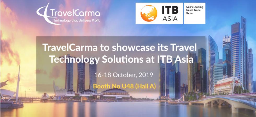TravelCarma participating at ITB Asia 2019