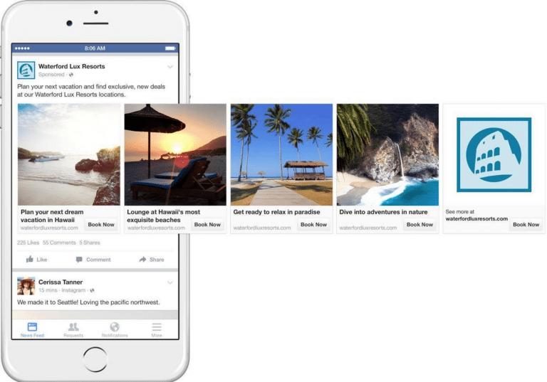 Facebook Trip Consideration TravelCarma