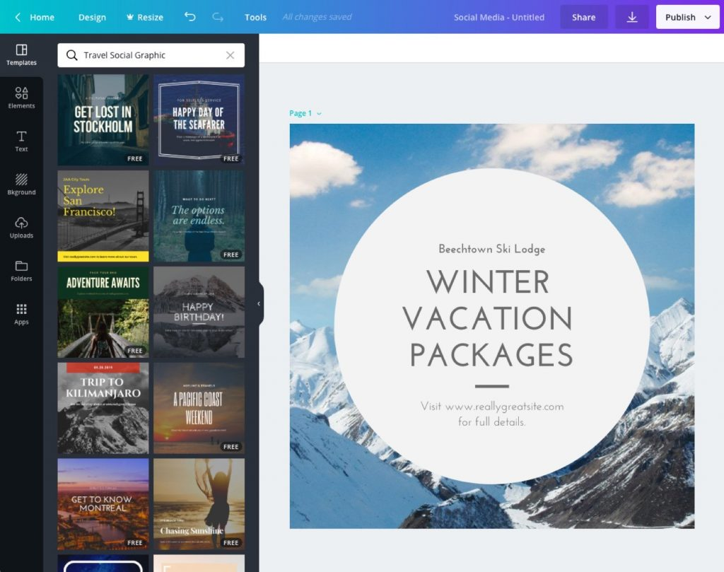 Essential travel agency tools - Canva