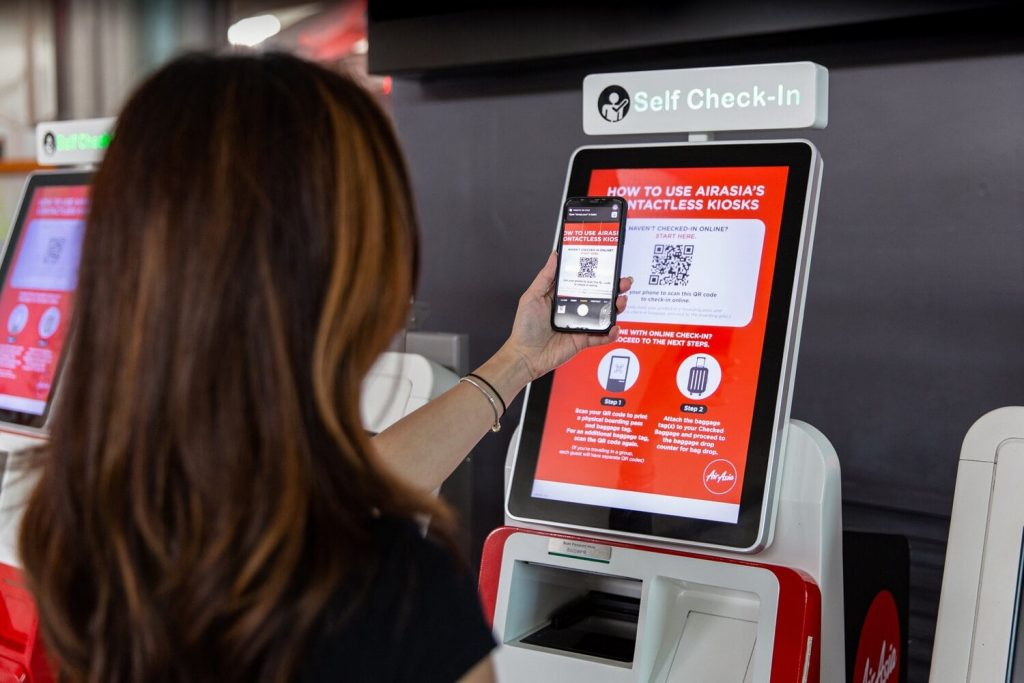 contactless travel technology covid